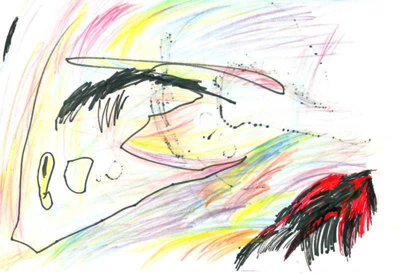 Zeichnungen von 0 bis 2 jährigen Kindern